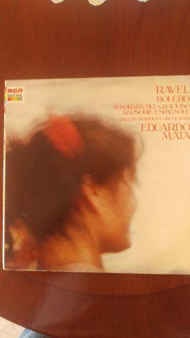 "Lp 33 giri di Ravel Eduardo Mata ""Bolero"""