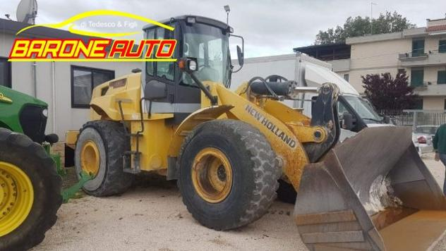 New holland pala gommata new holland w190 rif. 11746508