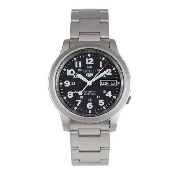 Seiko 5 military snkn25k1 orologio uomo meccanico automatico