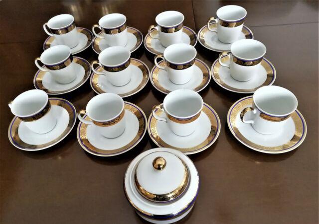 Servizio caffè in porcellana