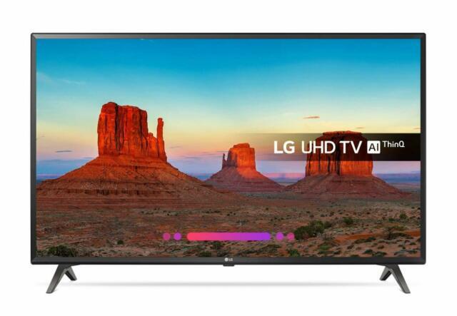 "Smart tv lg 43uk6300plb 43"" led 4k ultra hd wifi nero"
