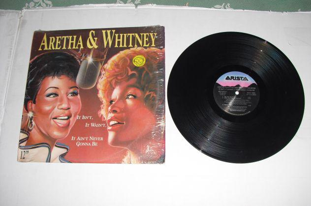 "Aretha & whitney – it isn't, it wasn't – ep 12"" mix"