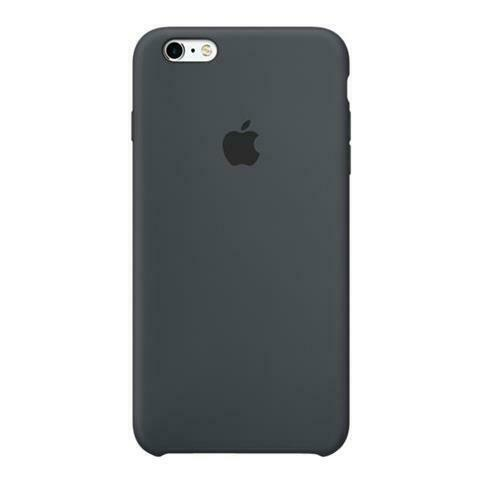 Custodia in silicone per iphone 6s plus antracite
