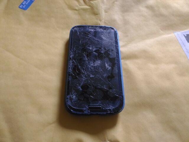 Smartphone samsung galaxy s3 gt-i9300 non funzionante