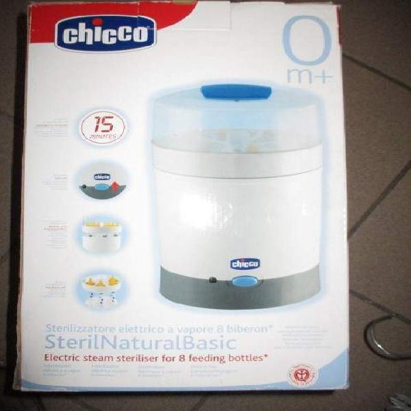 Sterilizzatore chicco sterilnatural basic 8 posti