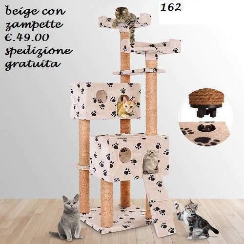 Tiragraffi gatto cm 152.7 colori megaoccasione 15.05/15.06