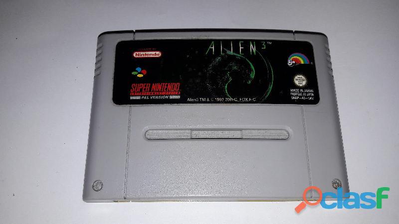 Gioco per super nintendo alien 3