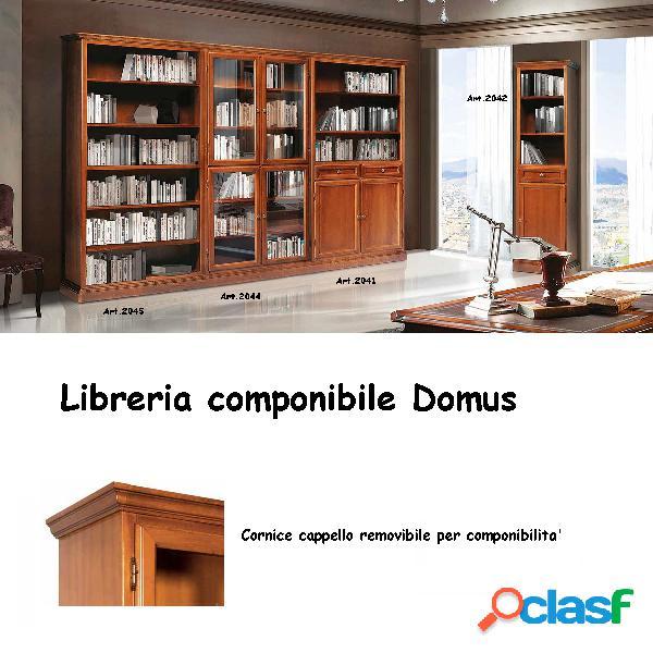 Libreria componibile domus