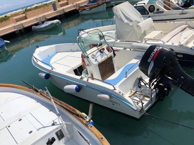 Barca open 5 mt conero