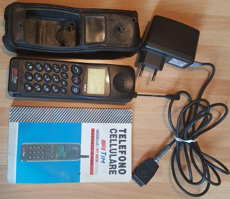 Cellulare nec p7 new vintage anni 90