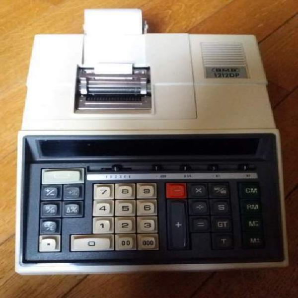 Calcolatrice vintage funzionante made in japan