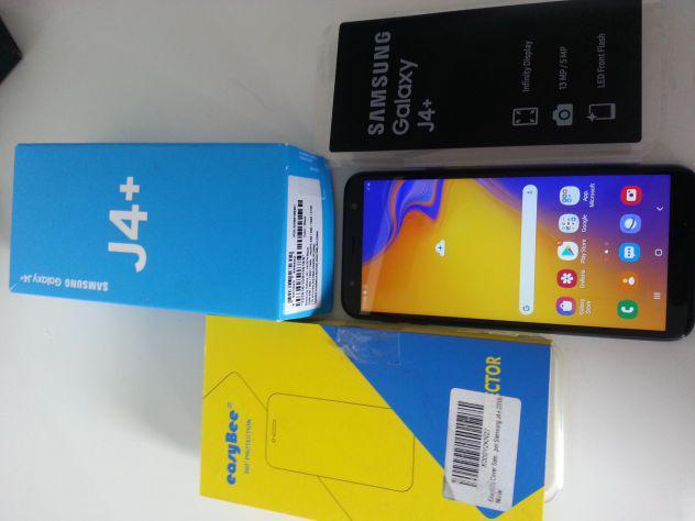Cellulare samsung j4+ plus con custodia e pellicola