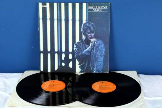 David bowie stage (live) lp *ex-/vg/vg+* doppio vinile 1978