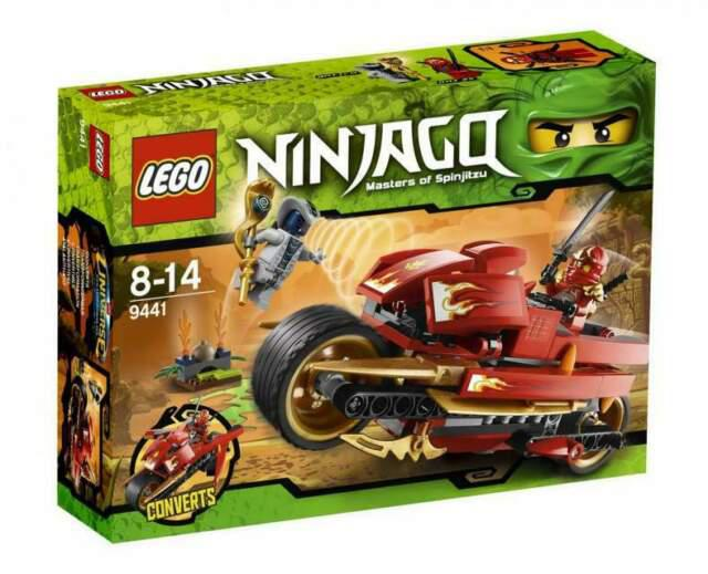 Lego ninjago moto 9441
