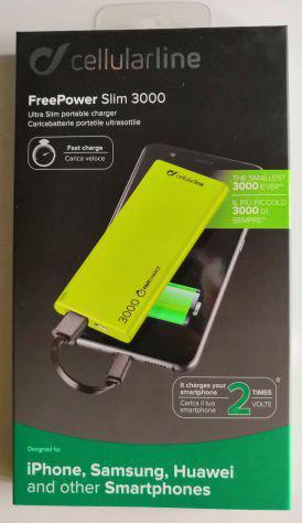 Powerbank carica batterie portatile cellularline nuovo