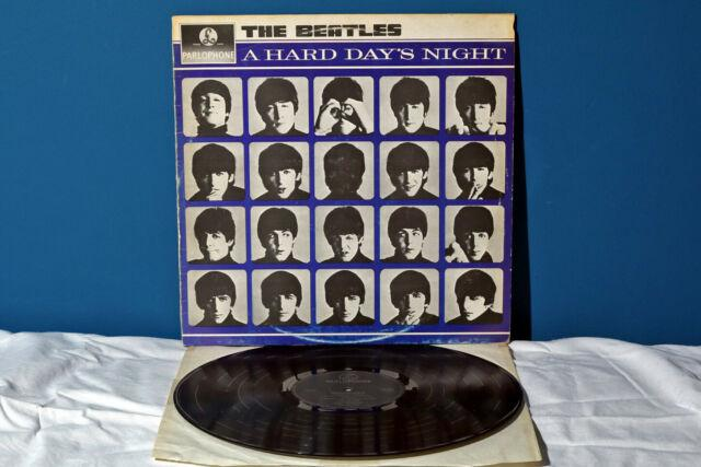 The beatles a hard day's night lp *ex-/ex-* vinile 1964 raro