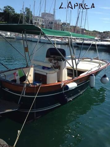 Barca a motoreaprea fratelli aprea l acquamarina td650