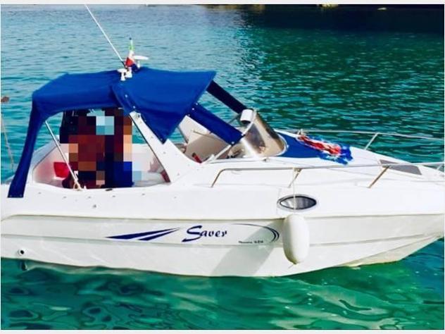 Barca a motoresaver saver manta 620 anno2000 lunghezza mt620