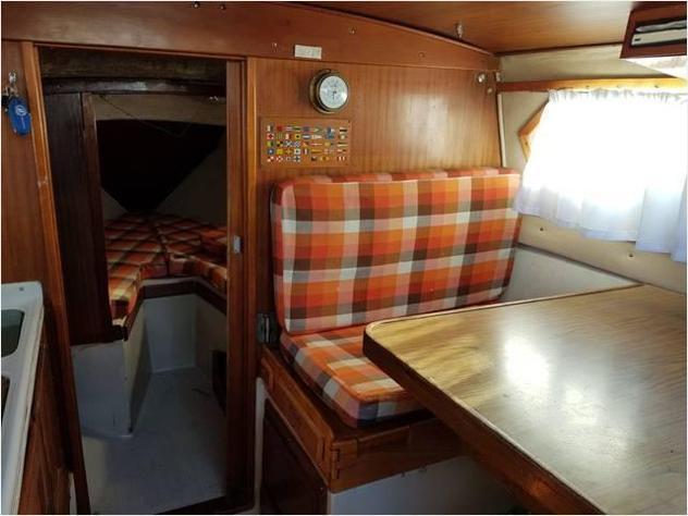 Barca a velacoronet coronado club 25 anno1967 lunghezza mt8