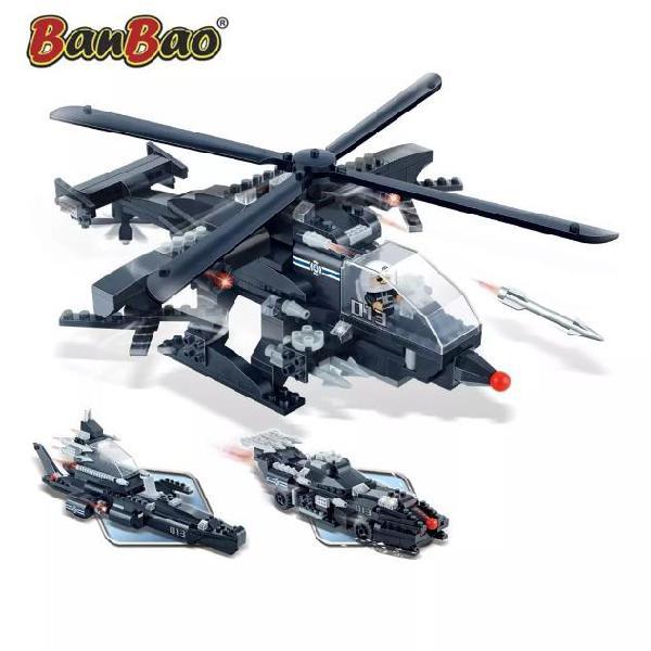Banbao 3-in-1 elicottero militare 8488
