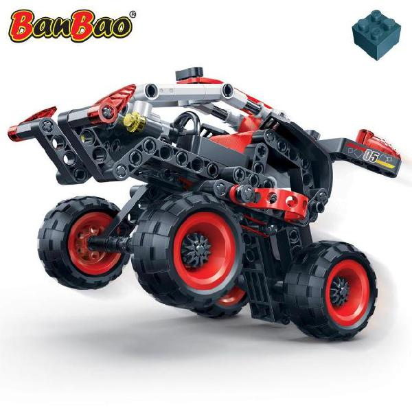 BanBao Camion da Corsa Jumper 6956