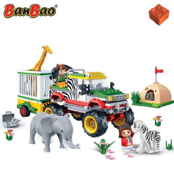 Banbao gioco fuoristrada con gabbia 6653