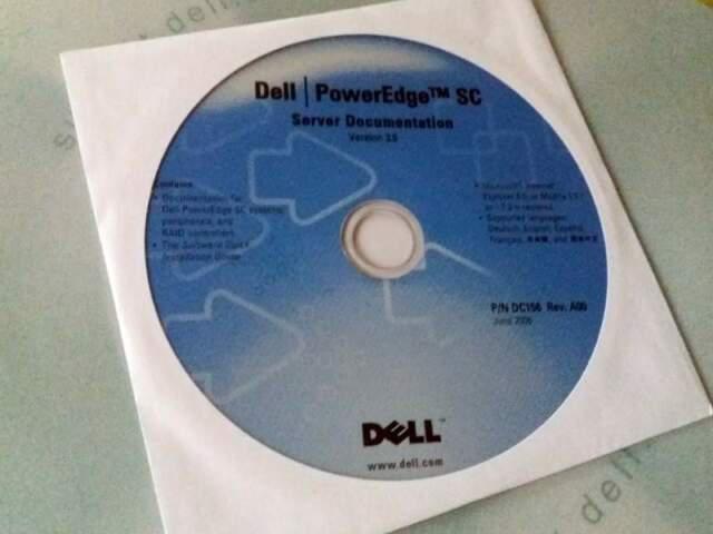 Dell poweredge sc server documentation