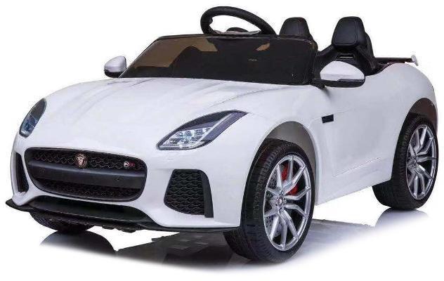 Macchina Elettrica Per Bambini 12v Jaguar F-type Svr Bianca