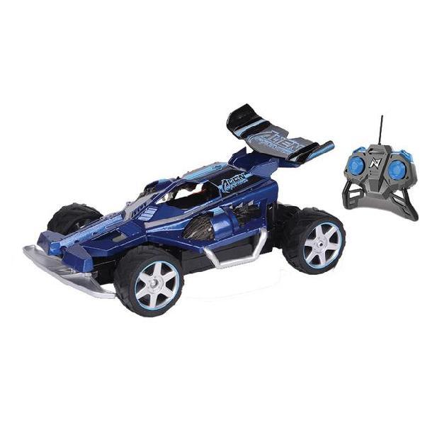 Nikko rc alien panic 1:18 94127 macchina da corsa blu