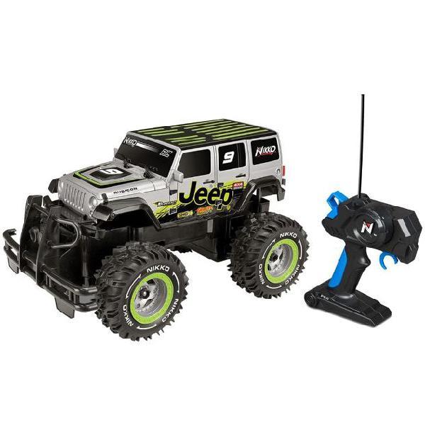 Nikko rc off-road jeep 1:16 94154 macchina jeep fuoristrada