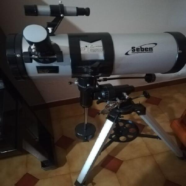 Telescopio 1000/114 riflettore newtoniano seben con