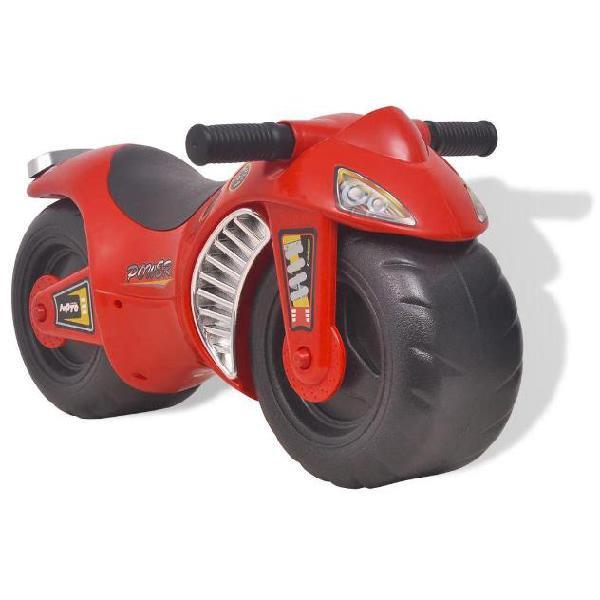 vidaXL Motocicletta Cavalcabile per Bambini in Plastica