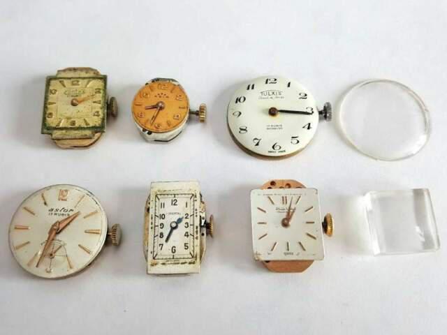 6 movimenti per orologi swiss vintage
