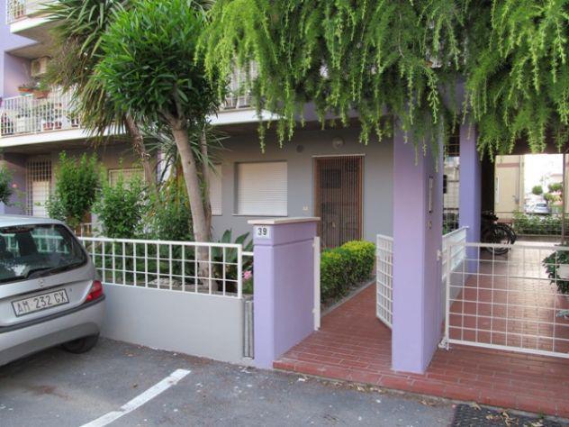 Appartamento con giardino privato