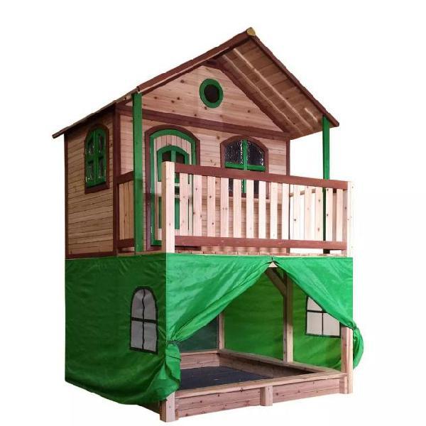 625883c473 Axi tenda per casa per bambini in plastica verde a030.186.00