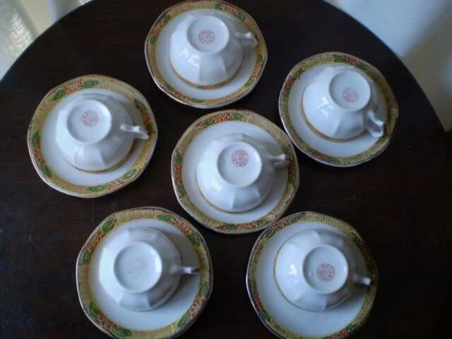 Antico servizio da caffè giapponese '880/primi '900fine