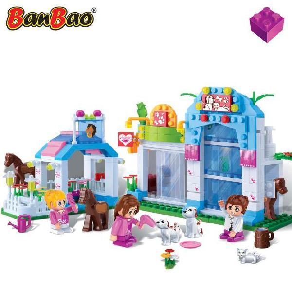 Banbao gioco negozio di animali 6112