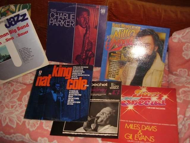 Dischi originali di genere jazz dagli anni 60 ed 80