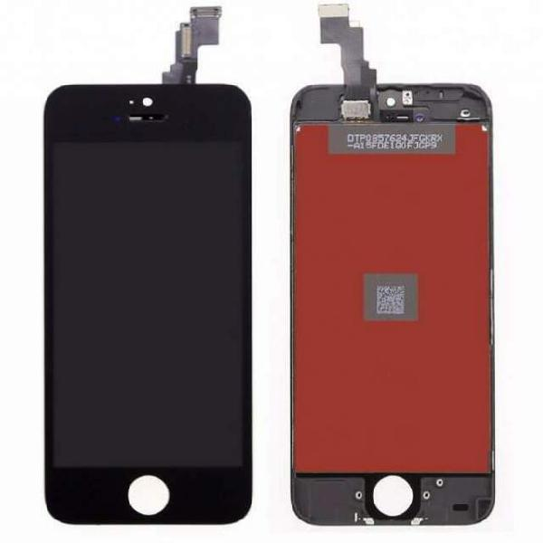 Display lcd + touch screen per apple iphone 5c nero.