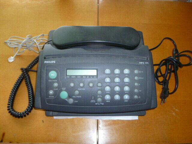 Fax telefono philips ppf 631e/itb con carta termica