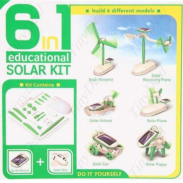 Giocattolo ecologico solare