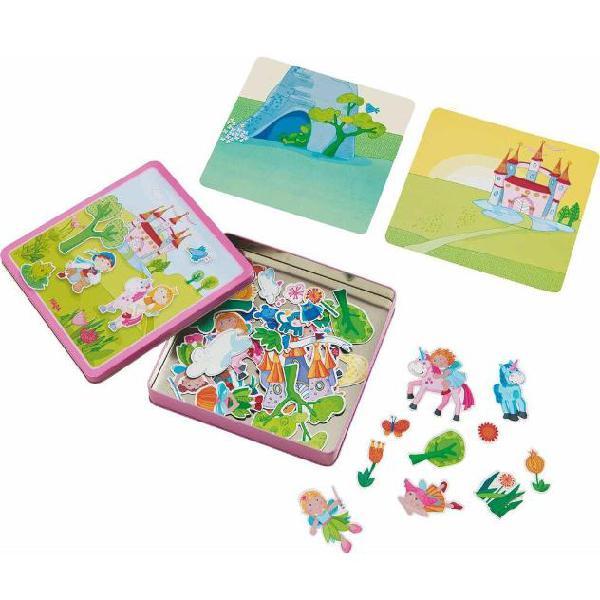 Haba set di giochi magnetici giardino delle fate 301950