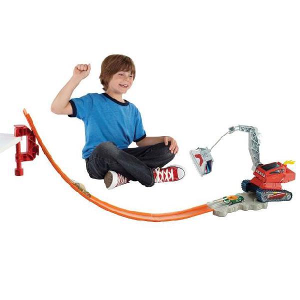 Hot wheels gioco crane crasher fff62