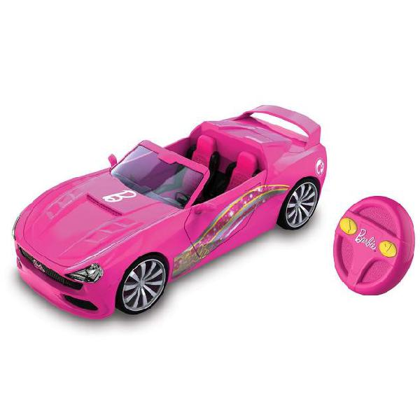Nikko macchina per bambini barbie rc convertible