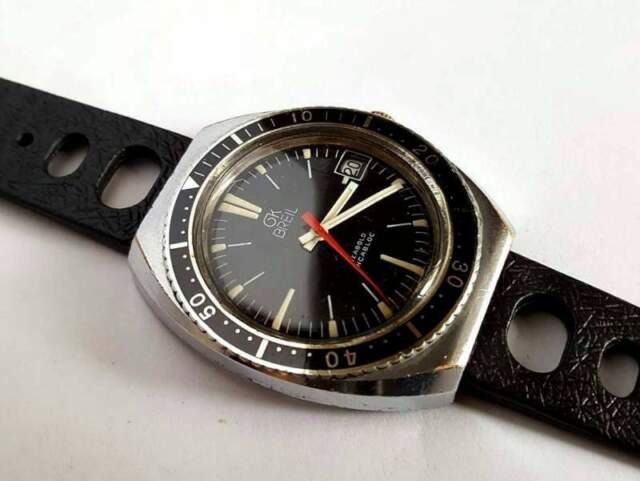 Orologio breil ok swiss diver vintage