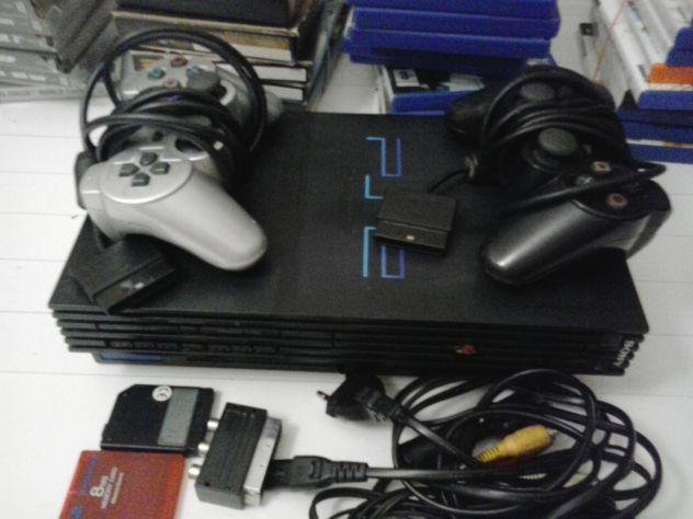 Playstation 2 accessoriata come nuova + 38 videogiochi