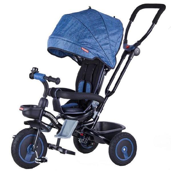 Passeggino triciclo seggiolino reversibile 4 in 1 boso happy