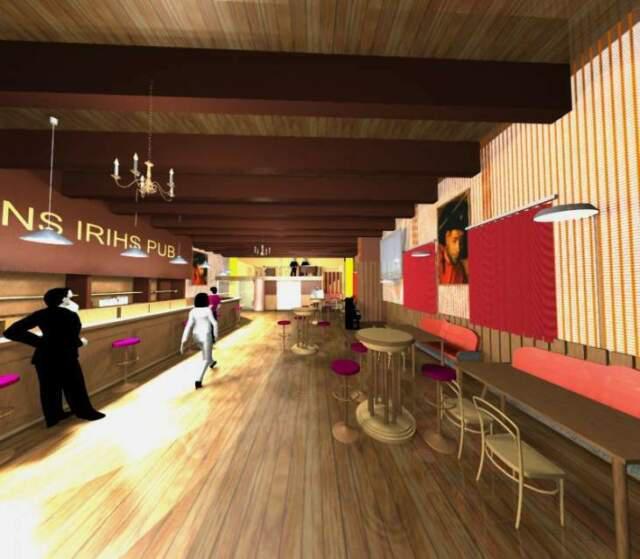 Progettazioni e servizi arredo pub in legno massello