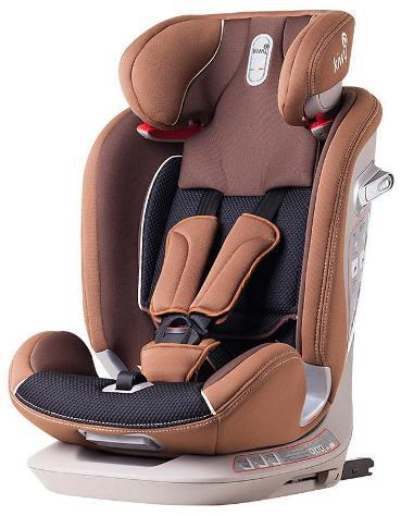 Seggiolino auto per bambini gruppo 1/2/3 9-36kg isofix kiwy