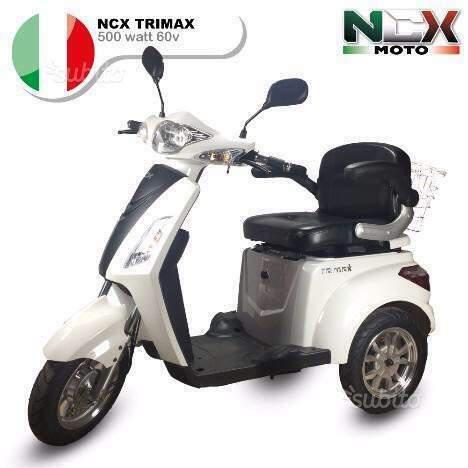 Veicolo elettrico trimax 500w new